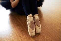 Λεπτά πόδια Ballerina Στοκ Εικόνες