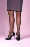 Λεπτά πόδια womans Στοκ φωτογραφία με δικαίωμα ελεύθερης χρήσης