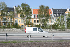 λεπτά σπίτια Στοκ Εικόνες