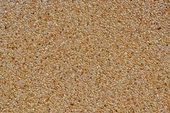 Λεπτά σύσταση και υπόβαθρο αμμοχάλικου στο φυσικό χρώμα Στοκ εικόνα με δικαίωμα ελεύθερης χρήσης