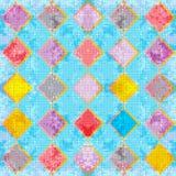 Λεπτά χρωματισμένα πολύγωνα Αφηρημένη γεωμετρική απεικόνιση υποβάθρου ελεύθερη απεικόνιση δικαιώματος