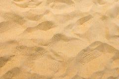 Λεπτή άμμος παραλιών στο θερινό ήλιο Στοκ φωτογραφίες με δικαίωμα ελεύθερης χρήσης