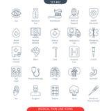 Λεπτή γραμμή ιατρικά 02 Στοκ Εικόνες