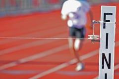 λεπτή γραμμή τερματισμού Στοκ φωτογραφίες με δικαίωμα ελεύθερης χρήσης