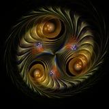 Λεπτή fractal απόδοση Στοκ Φωτογραφία
