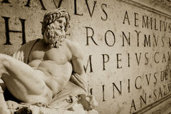 Ρωμαϊκή ταπετσαρία Στοκ φωτογραφία με δικαίωμα ελεύθερης χρήσης