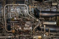 Λεπτομέρεια αεριωθούμενων μηχανών Στοκ Εικόνες