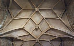 Λεπτομέρεια ανώτατου Arcade καθεδρικών ναών Στοκ Φωτογραφίες