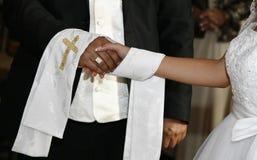 Λεπτομέρεια από τη γαμήλια τελετή Στοκ Φωτογραφίες