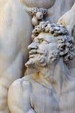 Λεπτομέρεια από το άγαλμα Hercules και Cacus Στοκ φωτογραφία με δικαίωμα ελεύθερης χρήσης