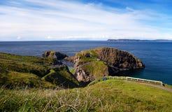 Λεπτομέρεια από το γιγαντιαίο υπερυψωμένο μονοπάτι, Ιρλανδία Στοκ Εικόνα