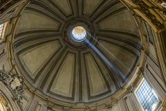 Λεπτομέρεια από το θόλο του dei Martiri ι Angeli ε degli της Σάντα Μαρία Στοκ εικόνα με δικαίωμα ελεύθερης χρήσης