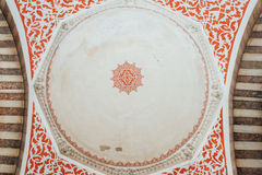Λεπτομέρεια από το μπλε μουσουλμανικό τέμενος Ιστανμπούλ Στοκ Εικόνα