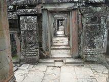 Λεπτομέρεια αρχιτεκτονικής Wat Angkor Στοκ φωτογραφίες με δικαίωμα ελεύθερης χρήσης