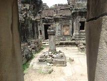Λεπτομέρεια αρχιτεκτονικής Wat Angkor Στοκ Φωτογραφίες