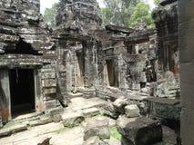 Λεπτομέρεια αρχιτεκτονικής Wat Angkor Στοκ Εικόνες
