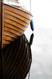 λεπτομέρεια βαρκών ξύλινη Στοκ Εικόνες