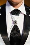 Λεπτομέρεια γαμήλιων κοστουμιών Στοκ Εικόνα
