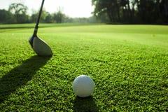Λεπτομέρεια γηπέδων του γκολφ Στοκ εικόνες με δικαίωμα ελεύθερης χρήσης