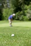 Λεπτομέρεια γκολφ couse Στοκ Φωτογραφία
