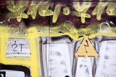 Λεπτομέρεια γκράφιτι Στοκ φωτογραφία με δικαίωμα ελεύθερης χρήσης