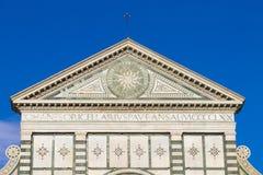 Λεπτομέρεια διακοσμήσεων εκκλησιών santa novella της Μαρίας Στοκ Εικόνες