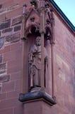 Λεπτομέρεια ενός αγάλματος του καθεδρικού ναού της Βασιλείας Στοκ εικόνες με δικαίωμα ελεύθερης χρήσης