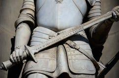 Λεπτομέρεια ενός αγάλματος, Uffizi Φλωρεντία Στοκ φωτογραφία με δικαίωμα ελεύθερης χρήσης