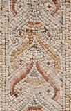 Λεπτομέρεια ενός αρχαίου ζωηρόχρωμου μωσαϊκού Στοκ φωτογραφία με δικαίωμα ελεύθερης χρήσης