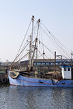 Λεπτομέρεια ενός εμπορικού αλιευτικού πλοιαρίου Στοκ Εικόνα