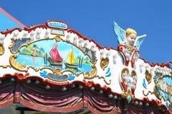 Λεπτομέρεια ενός ιπποδρομίου με τα cupids Στοκ Φωτογραφία