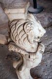 Λεπτομέρεια ενός μαρμάρινου πίνακα - archeological περιοχή της Πομπηίας Στοκ φωτογραφία με δικαίωμα ελεύθερης χρήσης