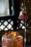 Λεπτομέρεια ενός ναού hinduist σε Bhaktapur Στοκ Εικόνες