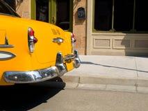 Λεπτομέρεια ενός παλαιού ταξί της Νέας Υόρκης Στοκ Εικόνες