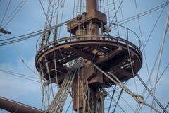 Λεπτομέρεια ενός σκάφους πειρατών Στοκ Φωτογραφίες