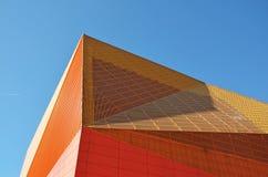 Λεπτομέρεια ενός σύγχρονου κτηρίου σε Lelystadt, Ολλανδία Στοκ φωτογραφίες με δικαίωμα ελεύθερης χρήσης