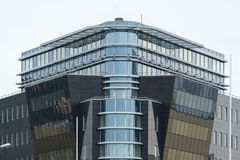 Λεπτομέρεια ενός σύγχρονου κτιρίου γραφείων  Στοκ εικόνα με δικαίωμα ελεύθερης χρήσης
