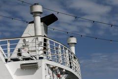 Λεπτομέρεια επιβατηγών πλοίων Στοκ εικόνα με δικαίωμα ελεύθερης χρήσης
