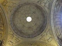 Λεπτομέρεια θόλων καθεδρικών ναών Στοκ Φωτογραφίες