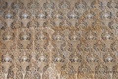 Λεπτομέρεια ισλαμικού (μαυριτανικός) tilework Alhambra, Γρανάδα, Ισπανία Στοκ φωτογραφίες με δικαίωμα ελεύθερης χρήσης