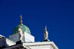 Λεπτομέρεια καθεδρικών ναών του Ελσίνκι Στοκ φωτογραφία με δικαίωμα ελεύθερης χρήσης