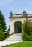 Λεπτομέρεια και κήποι Κάστρων της Πράγας Στοκ φωτογραφία με δικαίωμα ελεύθερης χρήσης
