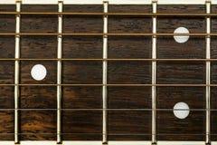 Λεπτομέρεια κιθάρων Στοκ Φωτογραφία