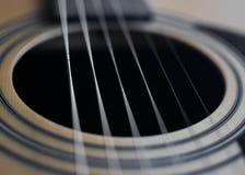 Λεπτομέρεια κιθάρων Στοκ Φωτογραφίες
