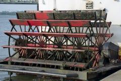 Λεπτομέρεια κουπιών Sternwheel στοκ εικόνες