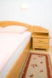 λεπτομέρεια κρεβατοκάμ&a Στοκ Εικόνες
