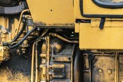 Λεπτομέρεια 2 μηχανών τρακτέρ Στοκ Εικόνες