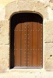 Λεπτομέρεια μιας πόρτας, Caceres, Ισπανία στοκ εικόνες με δικαίωμα ελεύθερης χρήσης