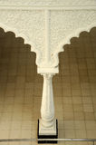 Λεπτομέρεια μοτίβου και σχεδίων στο σουλτάνο Ismail Airport Mosque - τον αερολιμένα Senai Στοκ Εικόνες