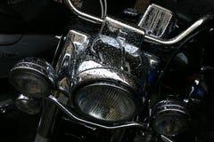 Λεπτομέρεια μοτοσικλετών Στοκ Εικόνες